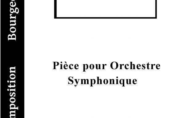 Scherzo Pour Orchestre