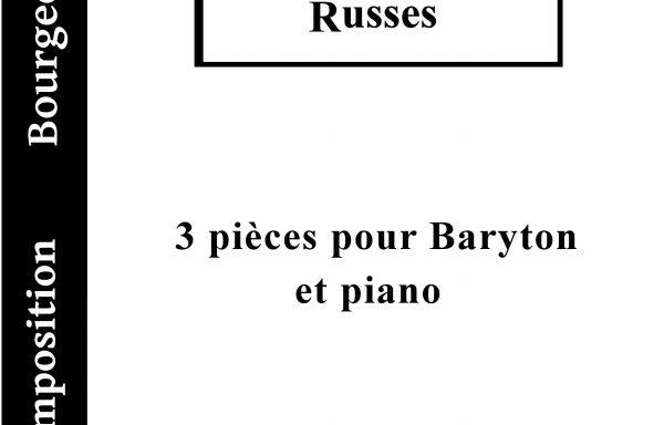 3 Mélodies Russes