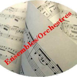 Répertoire musique d'ensemble/orchestre
